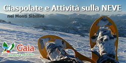 Attività sulla neve con Gaia