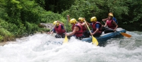 Rafting sul fiume Corno